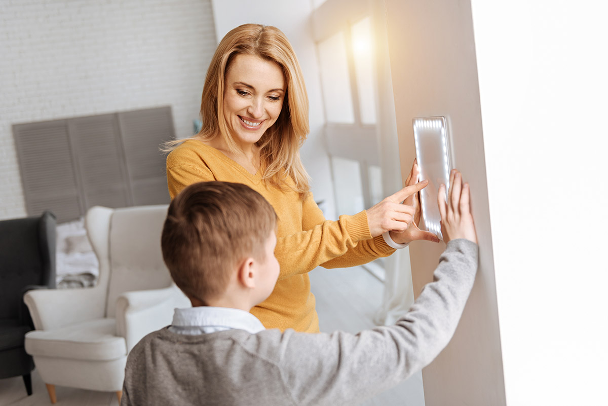 How smart home tech can be good for parents